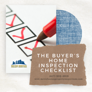 Buyer's home inspection checklist