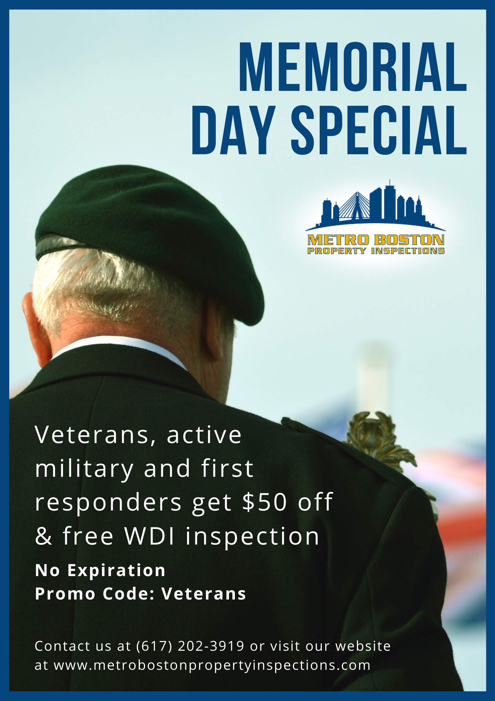 Home Inspection Boston - Memorial day special