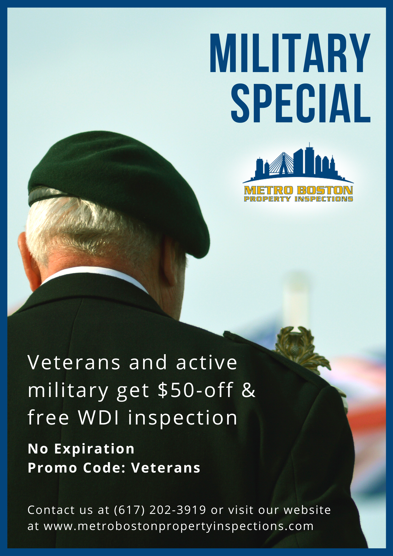 Home Inspection Boston | Military special Promo